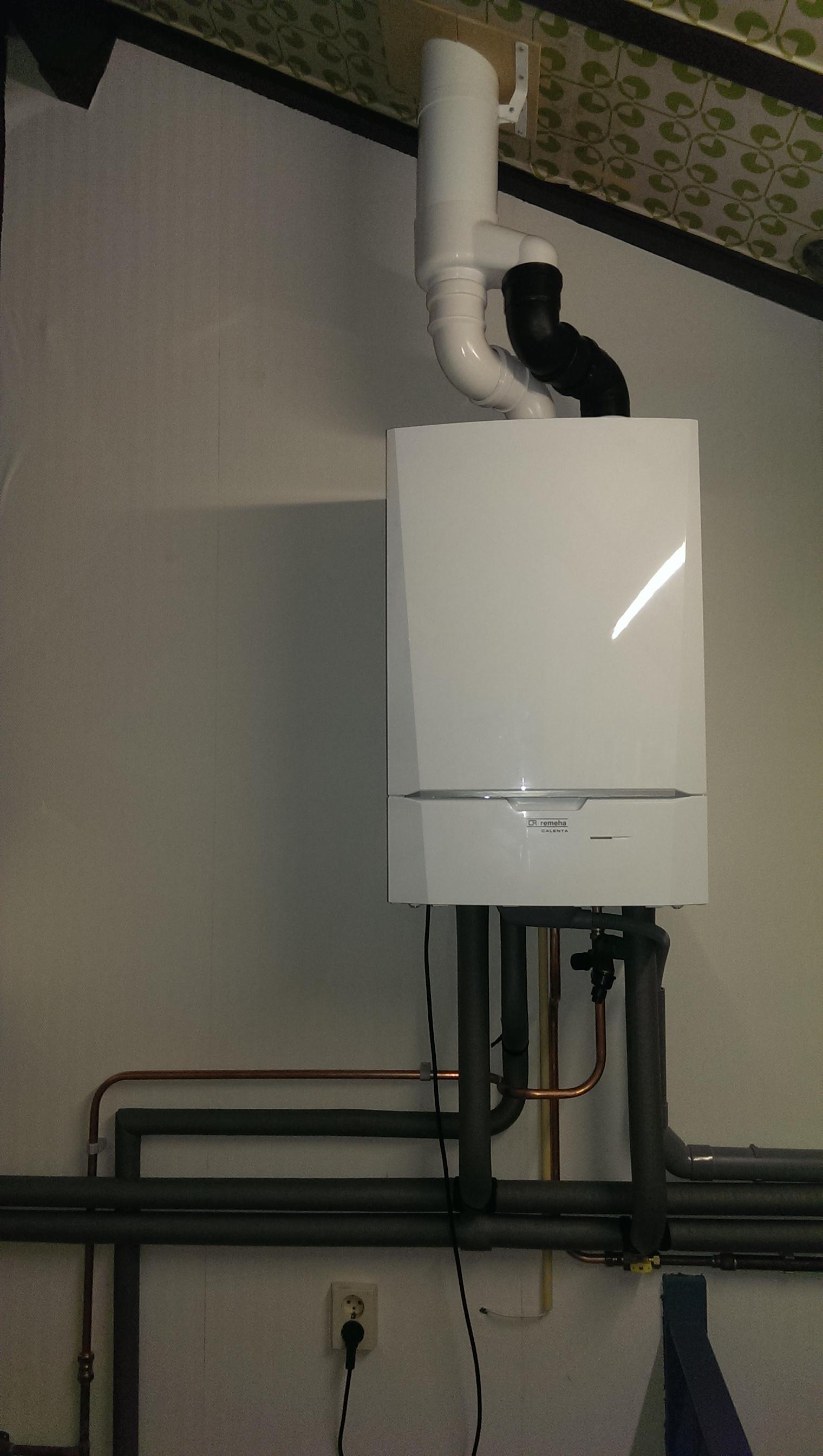 zelf nieuwe ketel installeren remeha calenta 40c  u2013 diy stuff nl