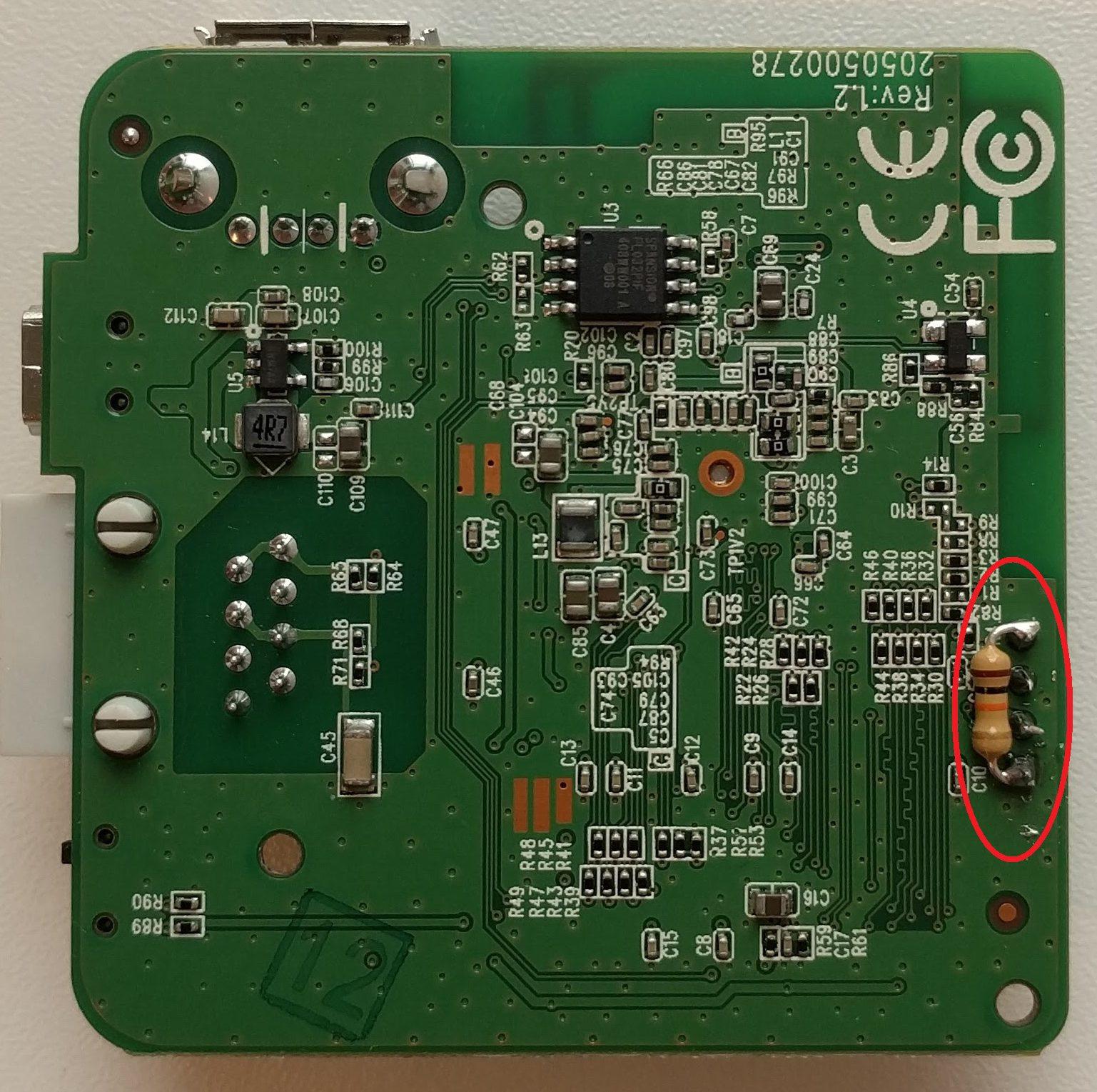 Flash bricked TP_Link LT-MR3020 wireless router